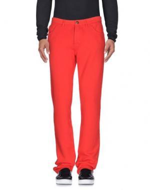 Повседневные брюки PRAIO. Цвет: коралловый