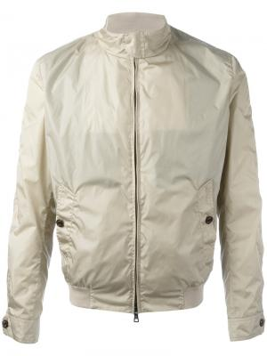 Куртка-бомбер на молнии Sealup. Цвет: телесный