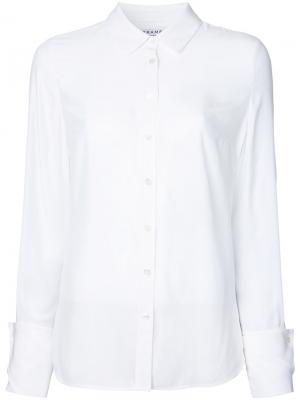 Классическая рубашка Frame Denim. Цвет: белый