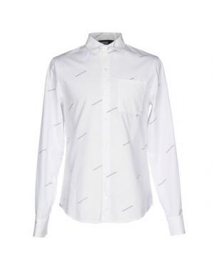 Pубашка HBA HOOD BY AIR. Цвет: белый