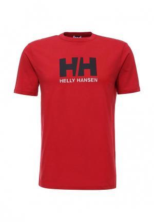 Футболка Helly Hansen. Цвет: красный