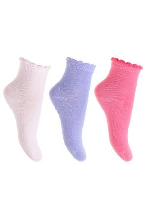 Носки PlayToday. Цвет: фиолетовый, розовый, светло-ро