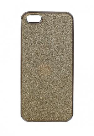 Чехол для iPhone diva. Цвет: золотой
