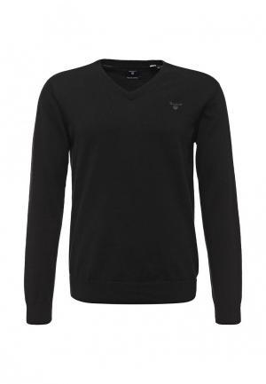Пуловер Gant. Цвет: черный
