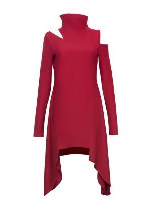 Платье Lucky Move. Цвет: красный