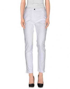 Повседневные брюки ROBERTA PUCCINI by BARONI. Цвет: белый