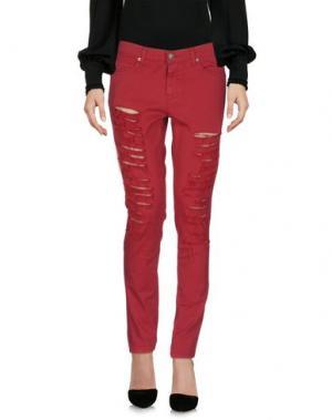 Повседневные брюки GAëLLE Paris. Цвет: пурпурный