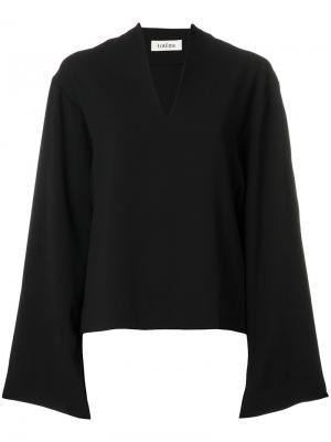 Блузка Gervasi Toteme. Цвет: чёрный