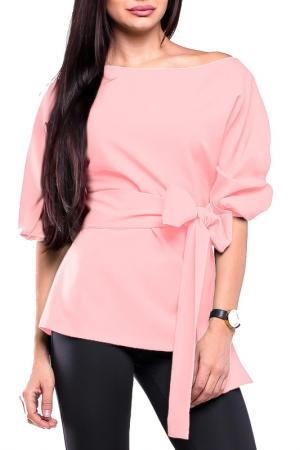 Блуза Laura Bettini. Цвет: розовый
