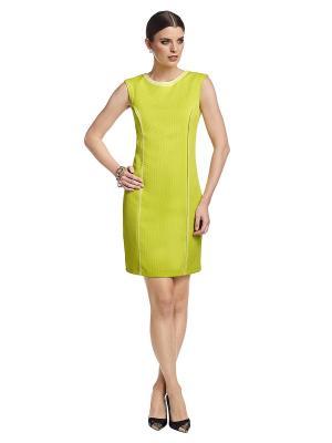 Платье APART. Цвет: горчичный
