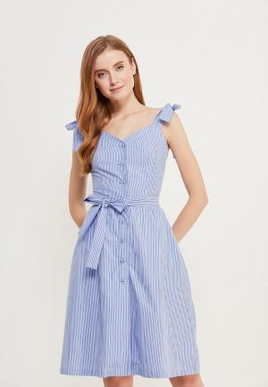 Сарафан Fashion.Love.Story. Цвет: голубой