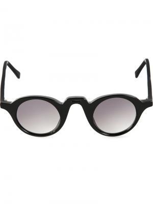 Солнцезащитные очки Retro Pantos  Barns Barn's. Цвет: чёрный