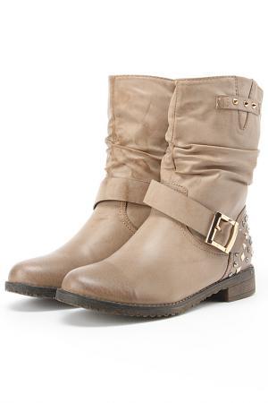 Ботинки Sorte Felice. Цвет: бежевый
