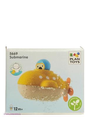 Подводная лодка PLAN TOYS. Цвет: желтый
