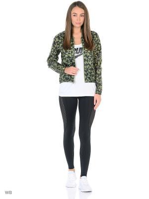 Куртка W NSW JKT TANGRAMS Nike. Цвет: зеленый