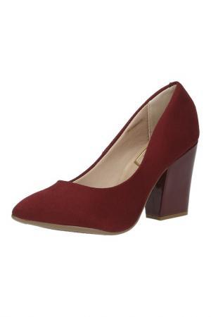 Туфли Beira Rio. Цвет: бордовый