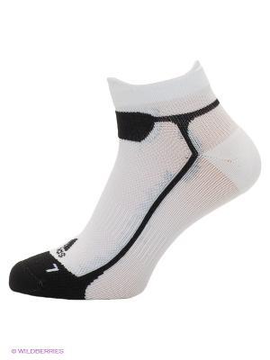 Носки Adidas. Цвет: белый, черный