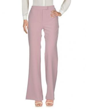 Повседневные брюки MARCO BOLOGNA. Цвет: пастельно-розовый