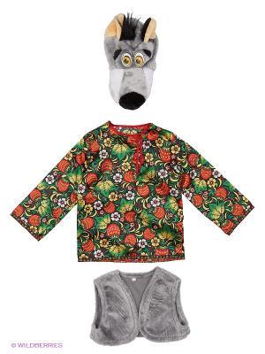 Карнавальный костюм Волчонок Ерёмка Батик. Цвет: прозрачный