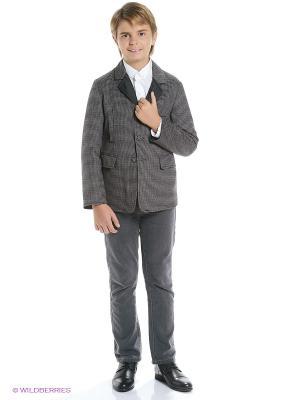 Пиджак De Salitto. Цвет: серый