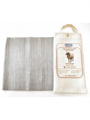 Пояс согревающий из шерсти овцы АЛЬМЕД. Цвет: серый