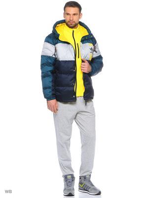 Куртка Originals ID96 Adidas. Цвет: темно-синий, серый, желтый