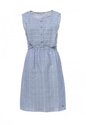 Платье Numph. Цвет: голубой