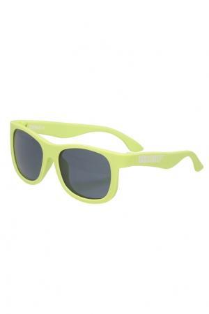 Зеленые солнцезащитные очки Babiators. Цвет: multicolor