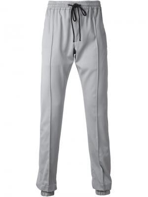 Спортивные брюки на завязках Ødd.. Цвет: серый