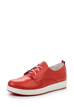 Ботинки Covani. Цвет: красный
