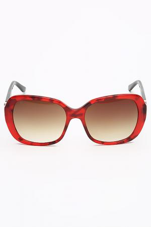 Очки солнцезащитные Laura Biagiotti. Цвет: красный