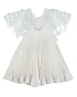 Платье LA STUPENDERIA. Цвет: белый