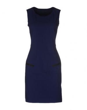 Короткое платье MARITHÉ + FRANÇOIS GIRBAUD. Цвет: ярко-синий