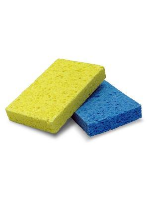 Top housе универсальные губки из натуральной целлюлозы,  2 шт. HOUSE. Цвет: синий