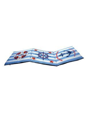 Сидушка лежак Gift'n'Home. Цвет: голубой, красный, белый