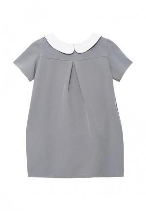 Платье Shened. Цвет: серый