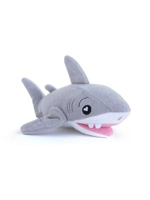 Губка для тела SoapSox. Акула Тэнк. SoapSox. Цвет: серый