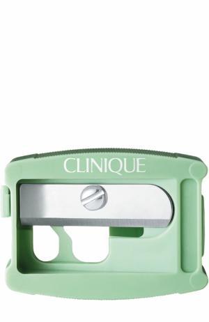 Точилка для карандашей губ и глаз Clinique. Цвет: бесцветный