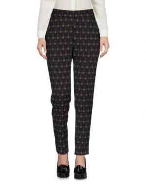 Повседневные брюки MYF. Цвет: черный