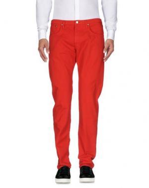 Повседневные брюки (+) PEOPLE. Цвет: красный