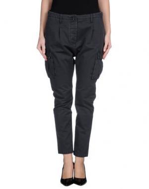 Джинсовые брюки NOVEMB3R. Цвет: стальной серый