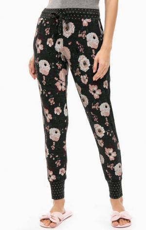 Домашние брюки с цветочным принтом Jockey. Цвет: цветочный принт