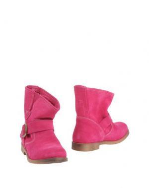 Полусапоги и высокие ботинки KENT. Цвет: фуксия