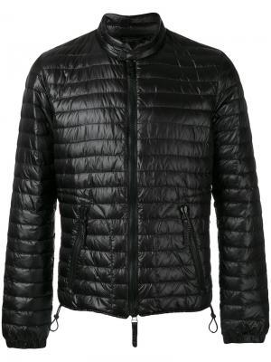 Куртка с узким воротником-стойкой Duvetica. Цвет: чёрный