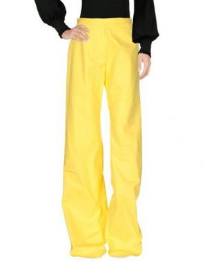 Повседневные брюки EMILIANO RINALDI. Цвет: желтый