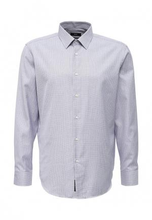 Рубашка Boss. Цвет: серый