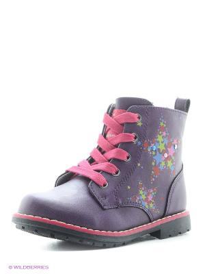 Ботинки Indigo kids. Цвет: фиолетовый