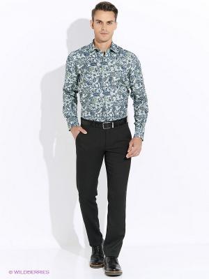 Рубашка Club21. Цвет: зеленый