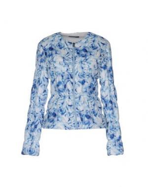 Куртка +MINI. Цвет: лазурный
