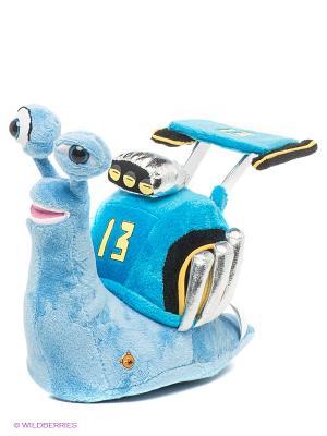 Мягкая игрушка Улитка Скидмарк Мульти-пульти. Цвет: голубой, желтый, черный